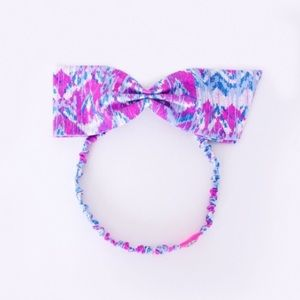 Ivivva Girls Purple Bow-Tiful Headband